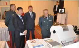 Военным медикам Казахстана рассказали о способах противодействия вирусу Эбола