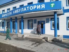 В ЗКО начала рушиться поликлиника, построенная два месяца назад