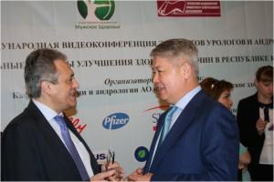 Международная видеоконференция экспертов урологов и андрологов «Актуальные вопросы улучшения здоровья мужчин в республике Казахстан»