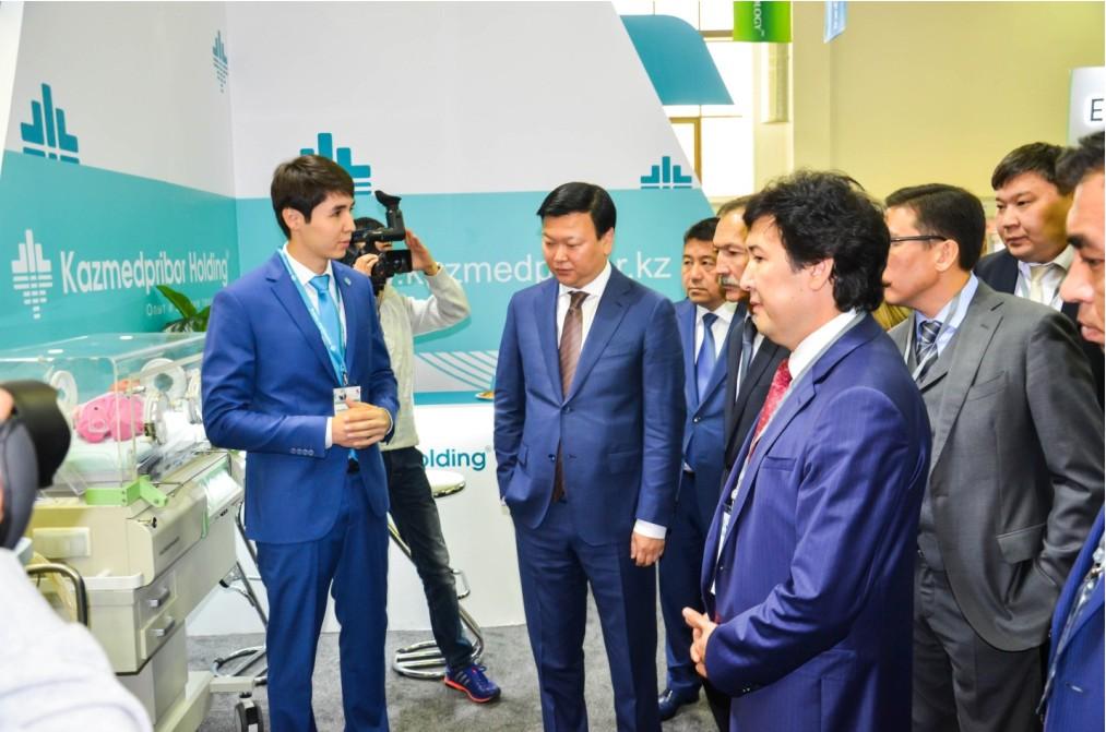 В Астане прошла 12-я Казахстанская международная выставка по здравоохранению – AstanaZdorovie 2015